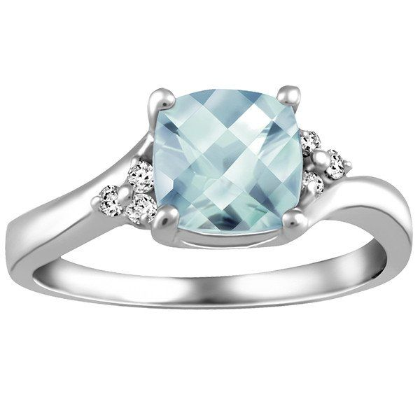25 best ideas about aquamarine rings on
