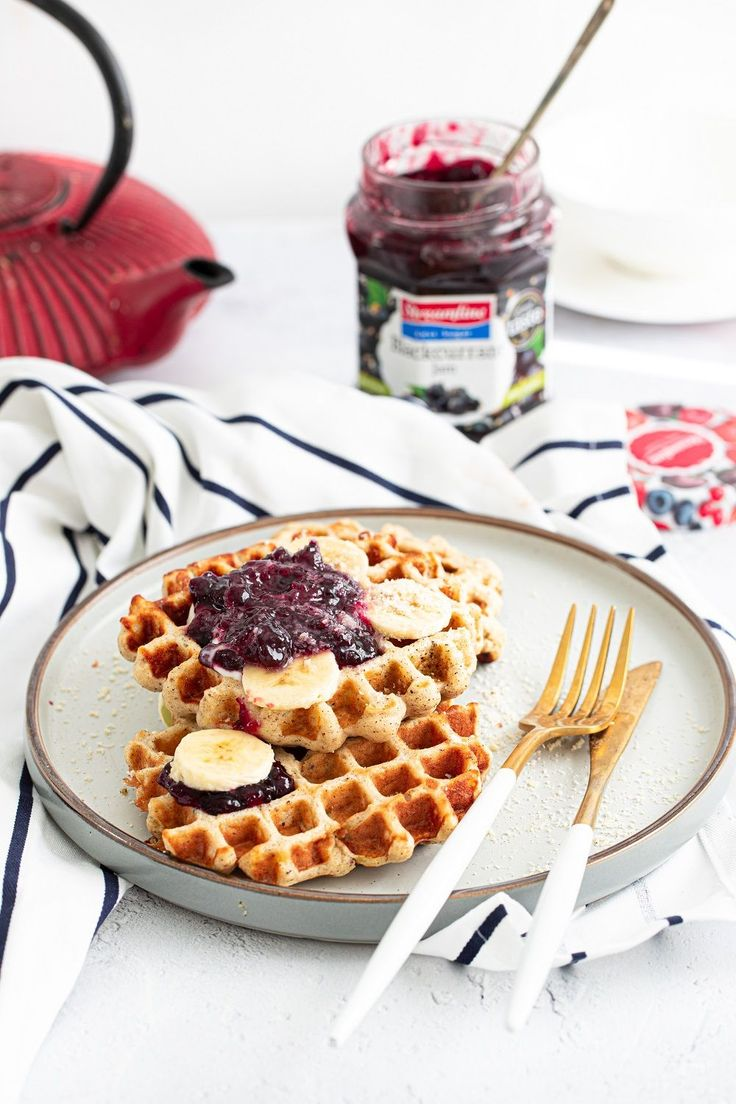 These waffles are so easy to prepare and a great way to