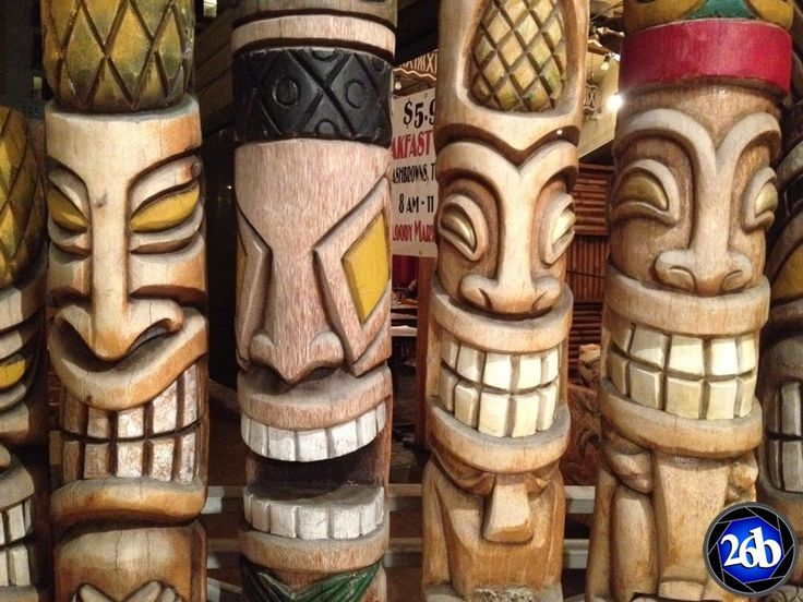 Hawaiian Tiki Gods and Their Meanings The Four Major Tiki Gods Ancient Hawaii was a mythic land full of tiki-masked warriors as well as unique and interesting gods and legends. Here you'll le…