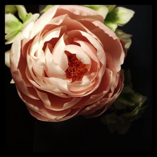 Hand made silk flower ; Peony....
