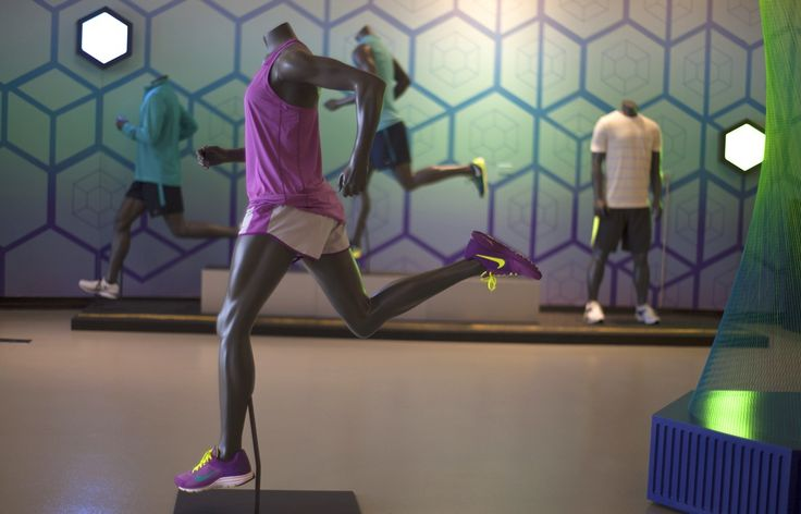 Nike Chicago Showroom | designed & built by ACME Scenic & Display