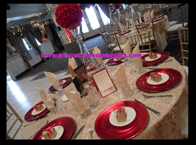 Beautiful Red Charger Plates u0026 Red Roseball Centerpieces & 12 best Red Charger Plates images on Pinterest | Charger plates ...