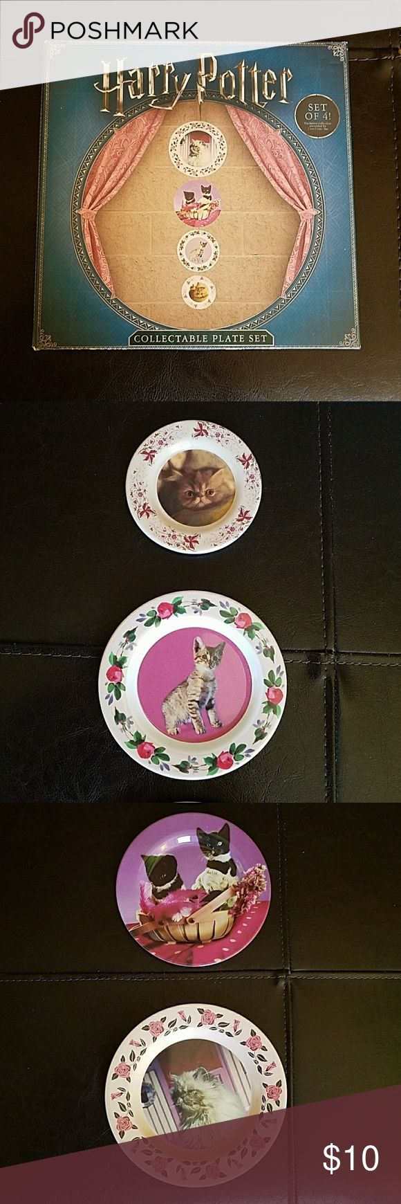 Harr Potter, Prof. Umbridge Cat Plate Set From the Loot Crate Wizarding World of Harry Potter Crate.  Box is slightly beat up but the plates have never been used. Loot Crate Other