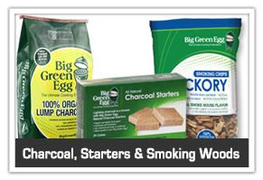 Green Egg charcoal, smoking chips and starters -Cullen's Home Center of Willmar, MN