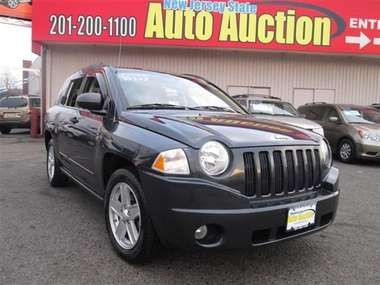 Used 2008 Jeep Compass Sport 4x4 SUV - Jersey City NJ - New Jersey State Auto Auction #NewJersey #NewYork #NJ #NY