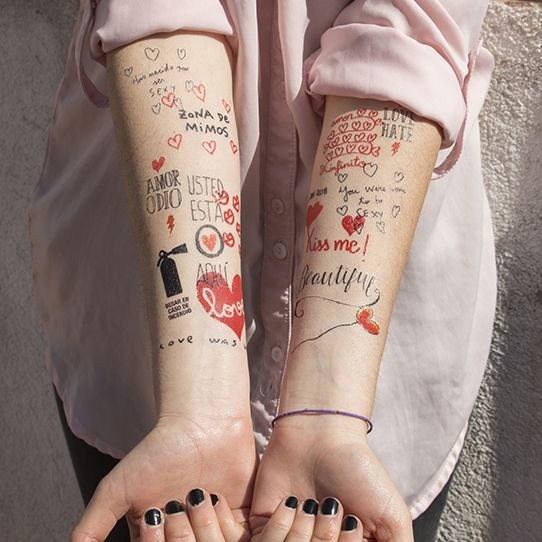34 Best Tatto Fixers The Best Images On Pinterest: 34 Best Images About Tatuajes Temporales ::: Temporary