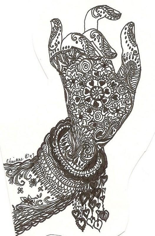 Mehndi Quotes For Her : Mehndi designs printable