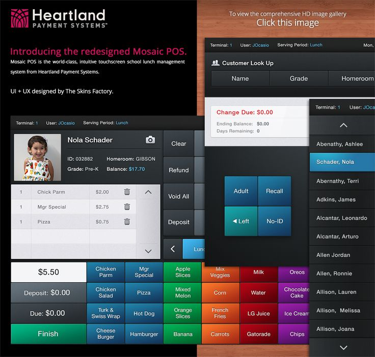 Best images about pos uis on pinterest behance jade