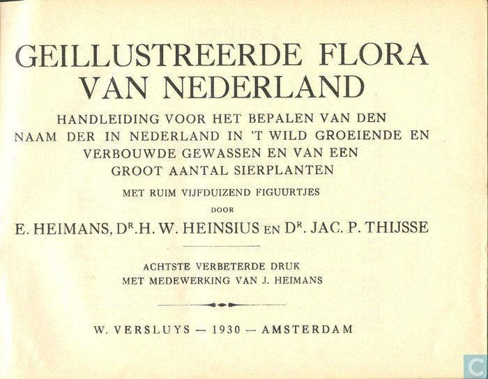 Heimans, Heinsius en Thijsse's geïllustreerde flora van Nederland