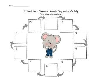 if you give a mouse a brownie pdf