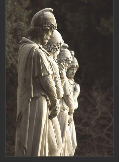 Roman statues of Dacians