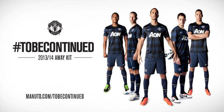 The new Manchester United 2013/14 away kit