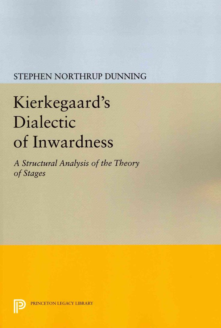 Kierkegaard's Dialectic of Inwardness: A Structural Analysis of the Theory of Stages