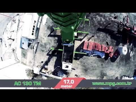 AC 130 TM-KC Knuckle Boom Crane Air View - (More Info on: http://LIFEWAYSVILLAGE.COM/videos/ac-130-tm-kc-knuckle-boom-crane-air-view/)