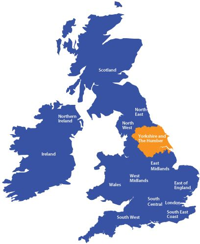 yorkshire map buscar con google uk pinterest yorkshire
