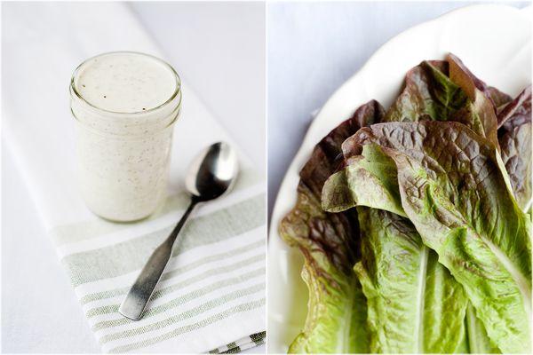 Buttermilk Pesto Dressing by thishomemadelife: So refreshing! #Salad #Dressing #Buttermilk