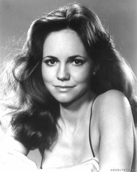 "Sally Field...for some odd reason, my husband swears I look like her. He does make an effort to say that it was when she was in her ""Cute and dating Burt Reynolds days or Flying Nun days""  Um...thanks?"