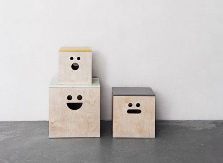 Face plywood boxes from Kizuku - this would be a fairly easy DIY