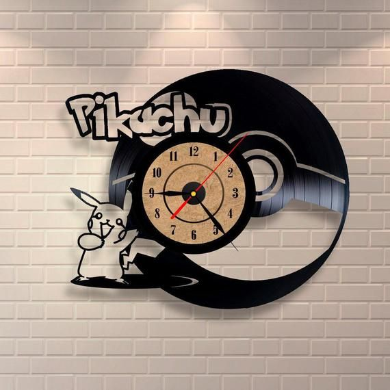 Best Original Wall Clock Made Of Vinyl Record Which Will Definitely Make Everyone Fall In Love With Your Place Clock Clock Wall Clock How To Make Wall Clock