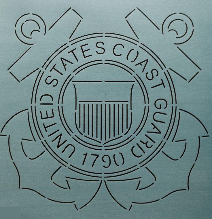"""Coast Guard 12"""" - The Stencil Company"""