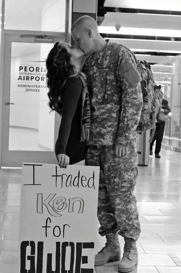 Military wedding picture