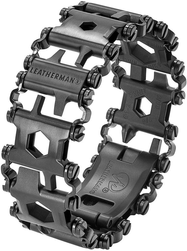 Leatherman 831999 Tread Black Stainless Steel Bracelet Multi-Tool