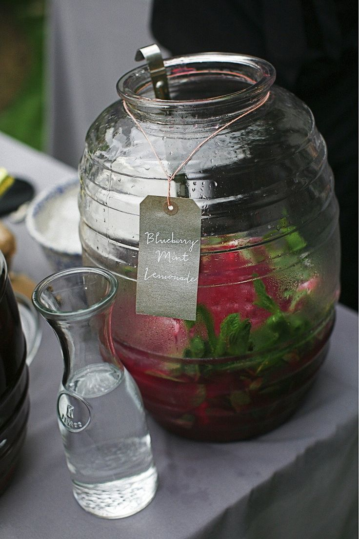 beautiful punch powl - love this idea.
