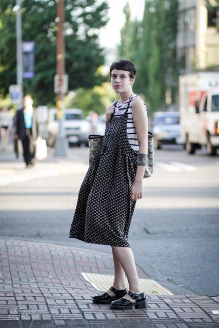 it's my darlin' seattle street style: Duh Cripe   Pattern Mixing