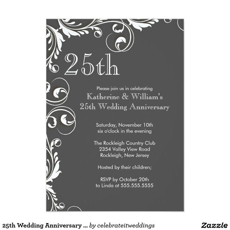 d74d161faf3e06c670ec80666f10ea44 anniversary party invitations th wedding anniversary best 25 wedding anniversary invitations ideas on pinterest,25th Wedding Anniversary Invitation Ideas