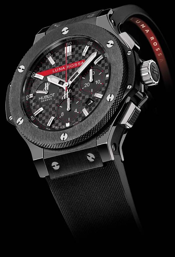 HUBLOT  LUNA ROSSA AMERICA'S CUP  www.ChronoSales.com for all your luxury watch needs, sign up for our free newsletter, the new way to buy and sell luxury watches on the internet. #ChronoSales