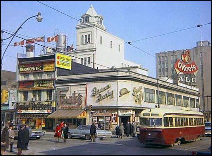 Corner of Yonge & Dundas Streets - 1960s