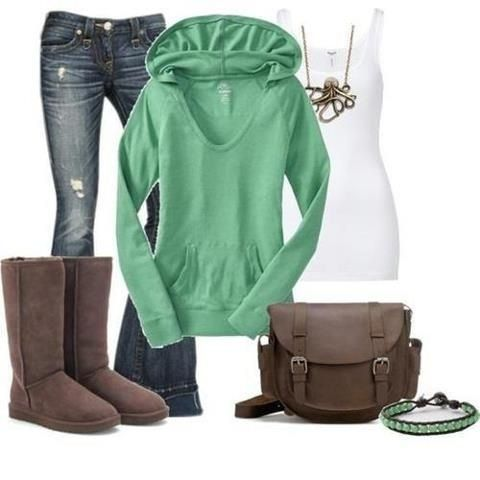 137 Best Uggs Outfit Images On Pinterest | Casual Outfits Casual Wear And Fall Winter
