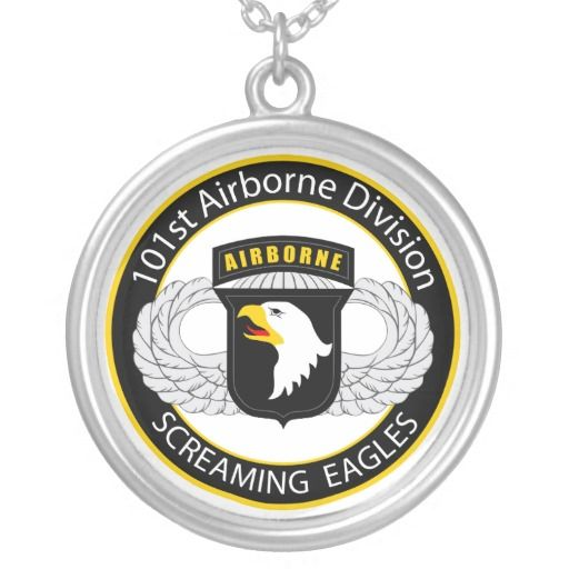 101st Airborne Screaming Eagles Pendants