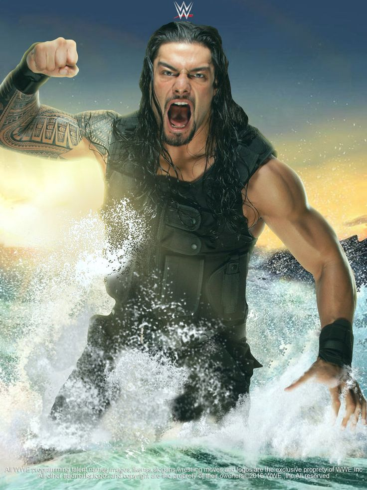 WWE Roman Reigns 2016 Poster by edaba7