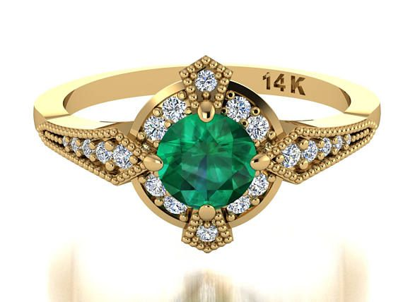 Best 25 Natural emerald rings ideas on Pinterest