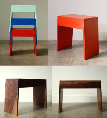 Stackable Benches