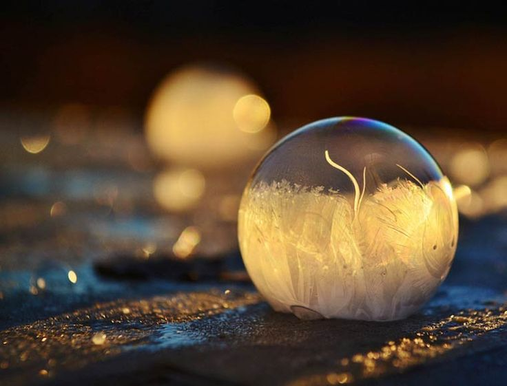 Petits, nous avons tous déjà fait des bulles de savon. Mais savez-vous ce qu\\\'il se passe quand la température extérieure est inférieure à 0° ? Imaginez des bulles de savon gelées à -9°. C\\\'est ce qu\\\'à fait la photographe Angela Kelly avec son fils. Angela Kelly est une photographe baséeà ...