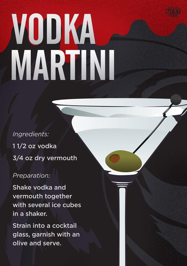 Vodka martini happy hour pinterest for Vodka martini