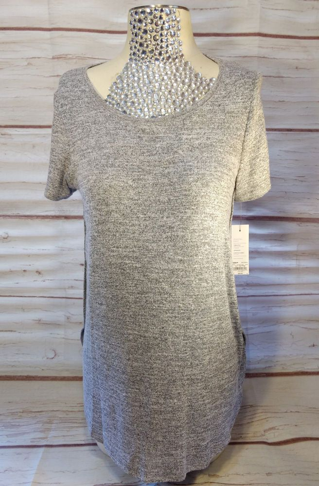c9a20d27 Womens Top Apt 9 Essential Tunic Size Small Heather Gray Supersoft Stretch  NWT #Apt9 #Tunic #Casual