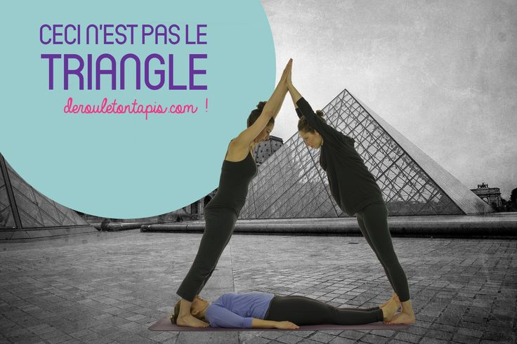 #posturedelasemaine #triangle #trikonasana http://www.derouletontapis.com/blogue/triangle/