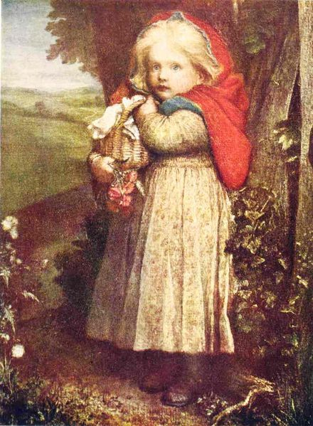 George Frederic Watts -Red Riding Hood. 1890