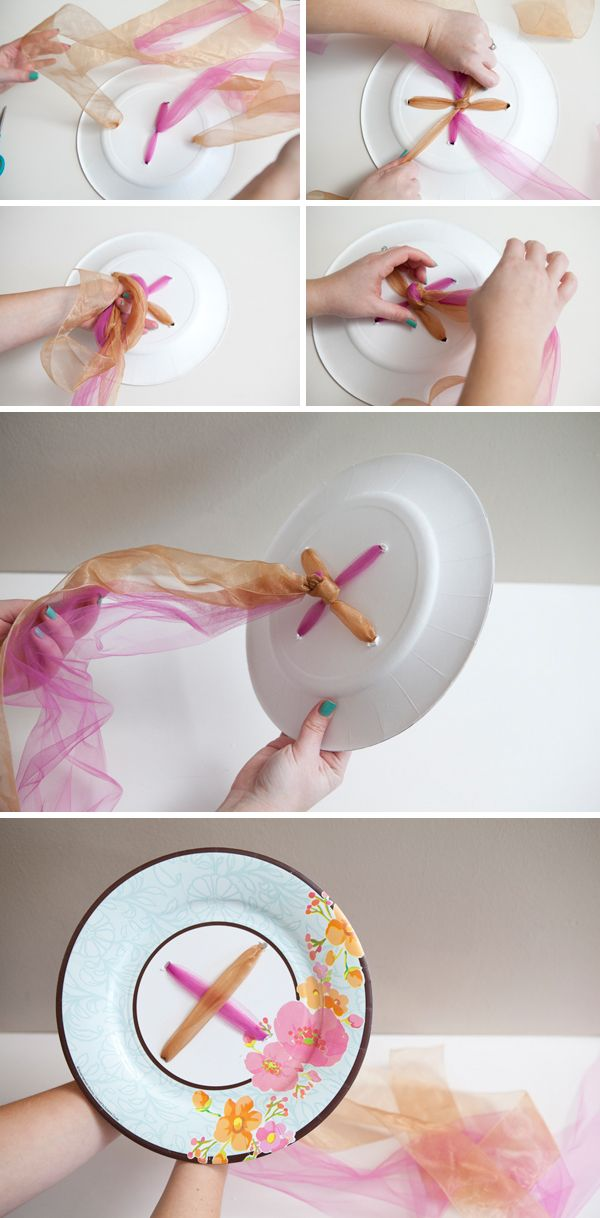 DIY - how to make a bridal shower ribbon bouquet to carry during the wedding rehearsal!