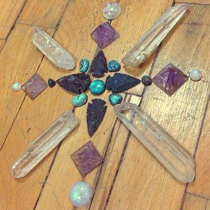 Crystal mandala