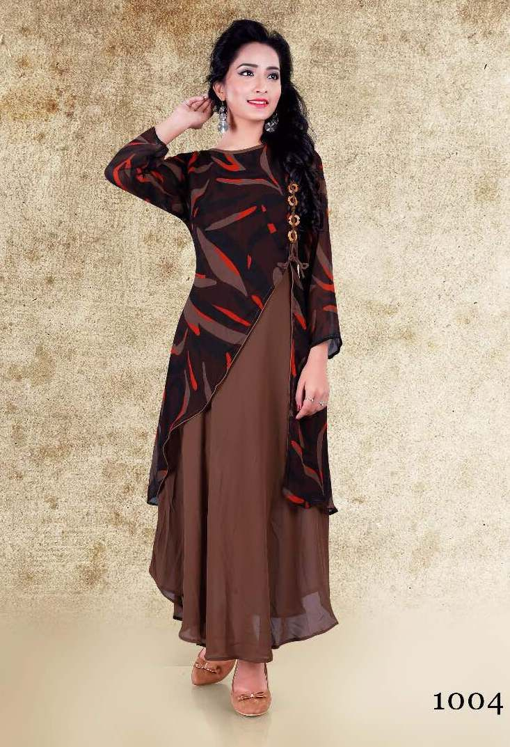 Princess Vol-1 Designer Kurtis (4 pc catalog)
