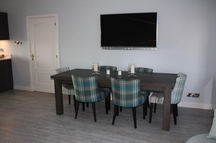 Table & Tartan Chairs