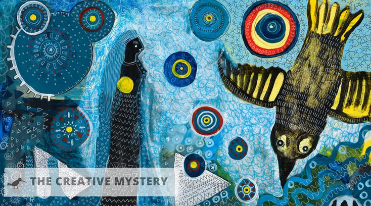 Introduction to a series of blog posts about the creative mystery. Strategies and ideas to unleash the flow of creativity in your art and life.
