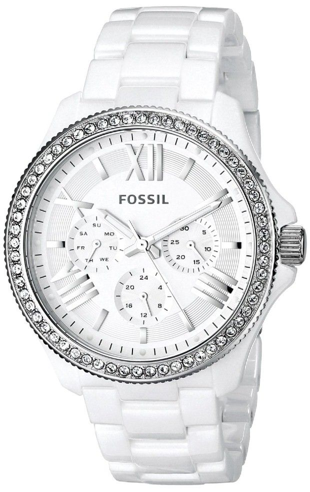 women watches |  Review for Fossil Women's CE1081 Analog Display Analog Quartz White Watch