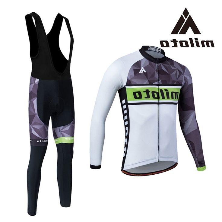 36.68$  Buy now - https://alitems.com/g/1e8d114494b01f4c715516525dc3e8/?i=5&ulp=https%3A%2F%2Fwww.aliexpress.com%2Fitem%2FMILOTO-Men-Winter-Cycling-Clothing-Set-Black-White-Cycling-Jersey-Bib-Kits-Gel-Pads-Breathable-Ropa%2F32776776910.html - MILOTO Men Winter Cycling Clothing Black White Cycling Jersey Gel Pads Breathable Ropa Ciclismo MTB Road Bike Clothing Jersey