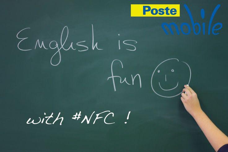 Nel Central College britannico di Nottingham, gli insegnanti hanno integrato il loro metodo di insegnamento dell' inglese, riempiendo l'edificio di poster con all'interno dei tag NFC, che rimandano ad un dizionario e invitano all'interazione!  #NFC