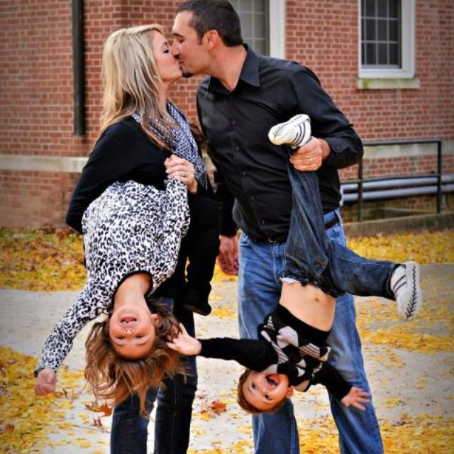 silly family picture @Michelle Dolven